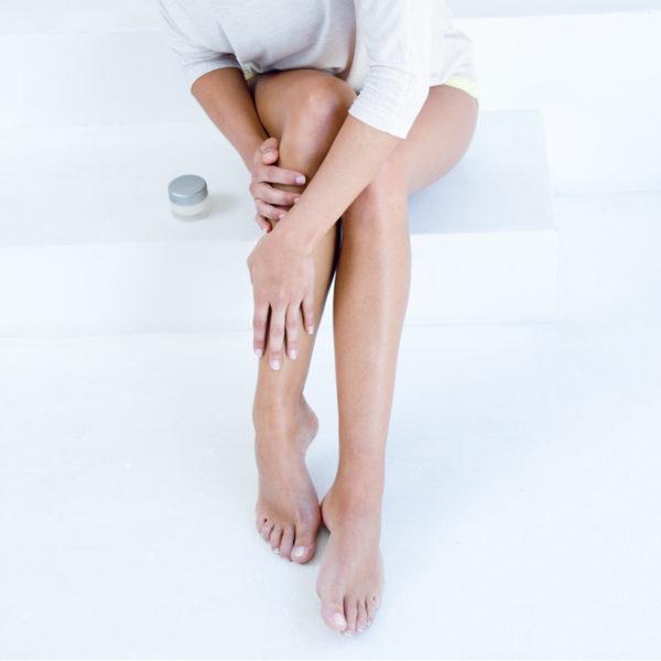 Moisturizing Dry Skin on Legs