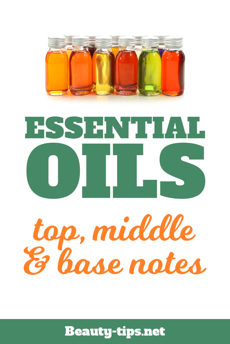 Essential Oils: Top, Middle & Base Notes