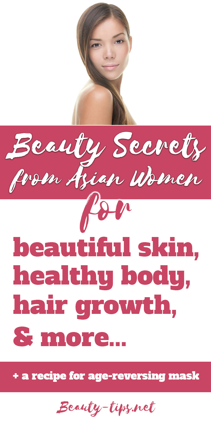 Natural Asian Beauty Secrets for Women: Hair Growth & Skin Care Tips