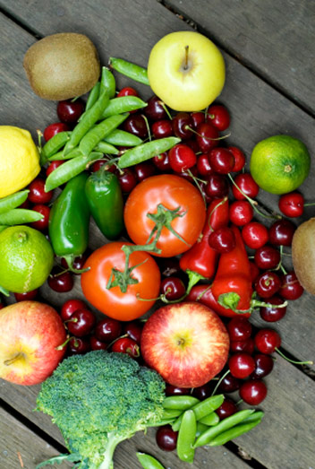list of fruits and vegetables for diabetics