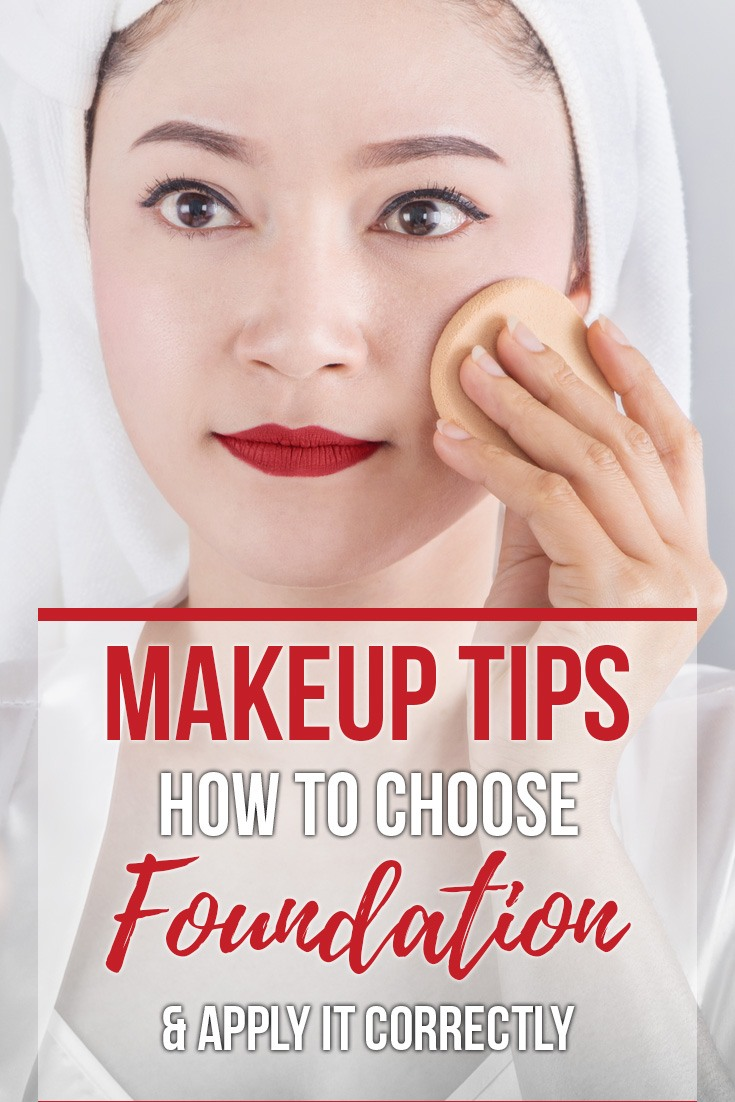 How to Choose Makeup Foundation Color and Apply It Correctly