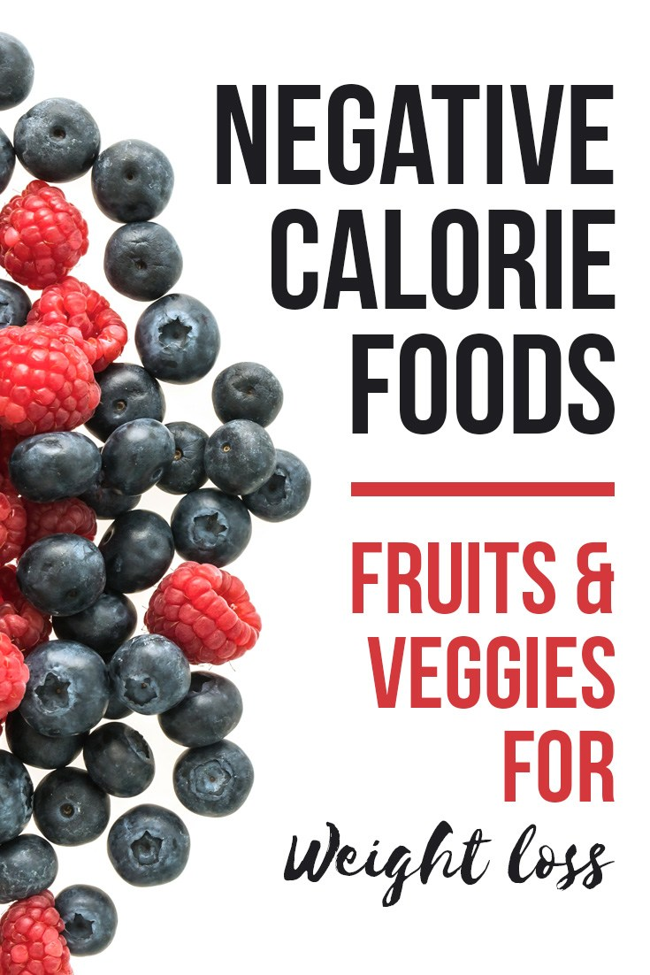 Negative Calorie Foods: List of Veggies and Fruits for Weight Loss