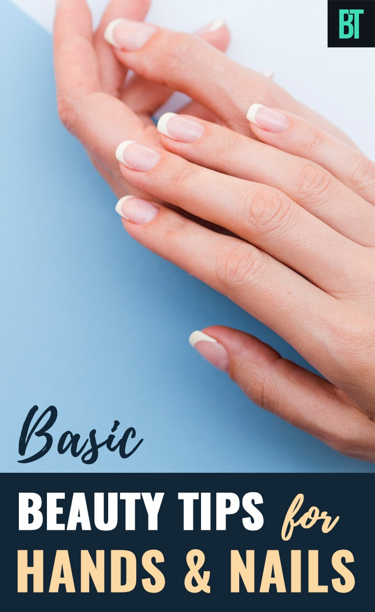 Beauty Tips for Beautiful Hands & Strong Nails: Homemade Hand Care